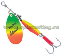 Блесна BALZER Colonel Classic FLUO RED-YELLOW-GREEN 14 гр